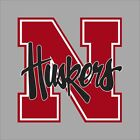 Nebraska Cornhuskers NCAA College Vinyl Decal Sticker Car Window Wall