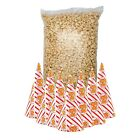 Pre-Popped Popcorn + Popcorn Cones x 50 - Choice of Flavours ! Buy 2 Get 1 FREE!