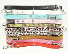"""New 48inch Smooth PU Leather Dog Leashes Lead 3/4"""" Wide For Small Medium Dogs"""