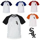 Chicago Whitesox Stripe Baseball Raglan Dry fit T-shirts tee Jersey shirt Top1