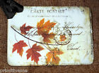 Hang Tags FALL AUTUMN LEAF POSTCARD TAGS or MAGNET 487 Gift Tags