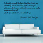 Paramore Still Into You Song Music Lyrics Wall Sticker 60cm x 130cm