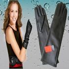 40cm(15 inches)Women's 100% Real Leather Opera Evening Gloves / Party Gloves