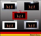 Gel and Ethanol Fire place Fireplace Model Diana - Choose the color
