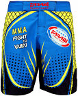 Farabi F2W MMA short grappling cage fight kick boxing board blue, S M L XL XXL