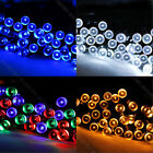 100 200 300 400 500 LED Solar Fairy Lights Garden Party Christmas Decorative
