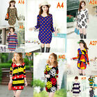 Many styles women's casual printing long-sleeved loose cashmere-like dress