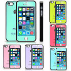 For iPhone 5 5S Case Cover New Jewelled glossy silicone tpu +matching color film