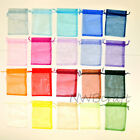 11x16 Organza Wedding Favour / Gift Bags, Jewellery Pouch, Various Colours