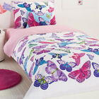 Butterflies - Flitter- 4 Or 5 Piece Bed Back - Available in Single & Double Bed.