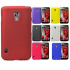 1x New Rubberized hard case Cover for LG Optimus L7II Dual P715