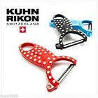 NEW KUHN RIKON PEELERS Potato Potatoe Peeler Peel Swiss GREEN RED BLACK