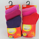 GIRLS 3 PACK RED TAG THERMAL SOCKS - 43B285