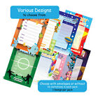 16 A6 Birthday Party Invitations in Various Designs Choose with envelopes or not