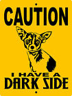 CHIHUAHUA   ALUMINUM SIGN VINYL LETTERING DSCHH1