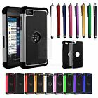 3-in-1 Hybrid Hard TPU Color Cover Case With Stylus Pen for Blackberry Z10 BBZ10