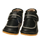 Boy's Children's Toddler Kid's Boots Squeaky Shoes Black Leather SPECIAL OFFER