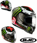 HJC CASCO INTEGRALE FIBRA R-PHA 10 PLUS MONSTER ENERGY CARBON JORGE LORENZO