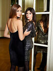 BIBA Cocktail Party Dress £145 Black Velvet UK 6 8 10 12 Beaded LBD Designer