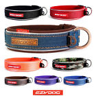 EZYDOG NEO CLASSIC DOG COLLAR Quality, Strong & Reflective ALL COLOURS & DENIM