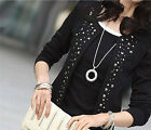 1 X Pretty Attracting Casual Short Outerwear Basic Short Coat With Rivets