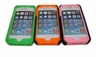 For iPhone 4 4G Armour Rubberised Silicone Phone Case With Flip Stand. UK Seller