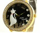 Glow in the dark CAT new Mini polymer clay watch fashion ladies woman waterproof