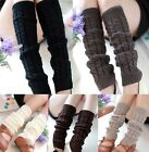 New Ladies Womens High Quailty Winter Knitted Crochet Socks Leg Warmers Leggings