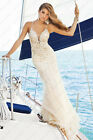 Wedding Bride Gown Bridesmaid Dress Prom Evening Dress Size 8 10 12 14 16 18 20