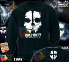 NEW Call of Duty Ghosts SKULL Logo COD PS 4 Game Crewneck Sweatshirt for Gift