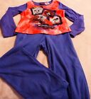 BratZillaz Girl's 2 Piece 100% Polyester Pajama Set Flame Resistant Soft & Warm