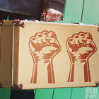 fist stencil power to the people reusable mylar airbrush craft art painting