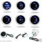 "2"" 52mm Oil Pressure/Water Temp/Boost/Tacho/Volt for Auto Car LED Digital Gauge"