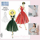 Vogue V1172 Sewing Pattern Misses' / Petite Dress & Belt Vintage 1950's Design