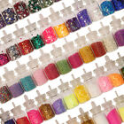 NAIL ART MINI BOTTLES CHOOSE - CAVIAR,SHELLS,GLITTER,FLITTER & STONES|UK SELLER