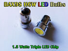 2x 1.5W Bayonet BAX9S H6W 64132 SMD White Blue Red Amber Green LED Parker Bulb