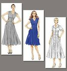 Vogue V8577 Sewing Pattern Misses' Dress - Close Fit - Flared - Darts/Gathered