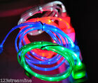 LED LIGHT-UP USB Data Cable charger FOR Apple iPhone  X 8 7 6 5 4s MICRO B C