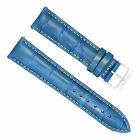 20MM LEATHER WATCH STRAP BAND FOR FERRARI LIGHT BLUE WS