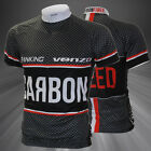 Carbon Type Short Sleeve Cycling Bicycle Jersey