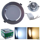 4 10x 5W LED SMD Recessed Ceiling Downlight Hallway Warm Day White Light Lamps