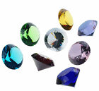 80mm Faceted Crystal Glass Diamond Paperweight Wedding Ladies Gift Home Deco