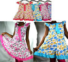 PINK Summer Party Flower Girls Dress kids clothing HOLIDAY maxi flarred dres