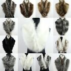 Fashion Women's Fluffy Winter Faux Fur Collar Scarf Scarves Shawl Wrap, 15 Color