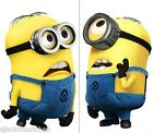 2 Mini Minions Despicable Me 2 Switch Wall Stickers Nursery Kids Decor Decals AU