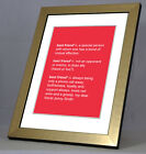 A4 Personalised Best Friend Dictionary Definition Print. Christmas Birthday Gift