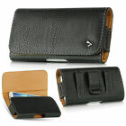 Samsung Galaxy S4 S3 PU Leather Pouch Holster (Fits With Otterbox Commuter Case)