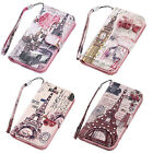 Diamond PU Leather Wallet Flip Stand Case Cover Skin For Samsung Galaxy S3 S4
