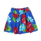 NWT HOLLISTER HCO WOMENS PREPPY BLUE/RED/TURQUOISE FLORAL MINI SKIRT