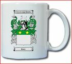 DRURY COAT OF ARMS COFFEE MUG